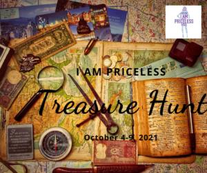 I Am Priceless Treasure Hunt